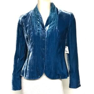 NWT Tahari blue jacket